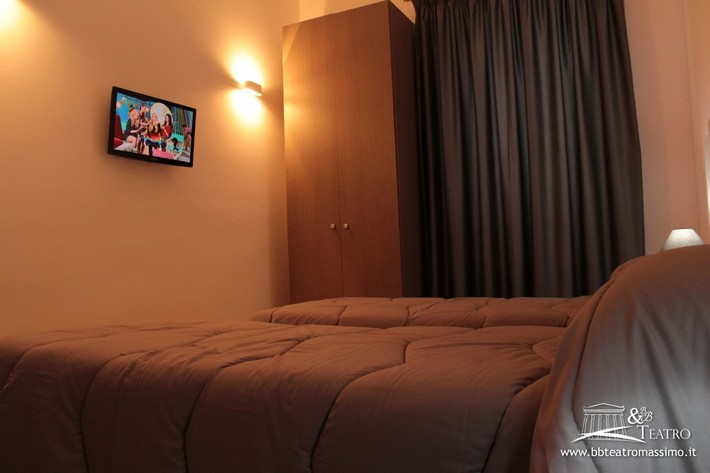 Le camere del bed and breakfast Teatro Palermo